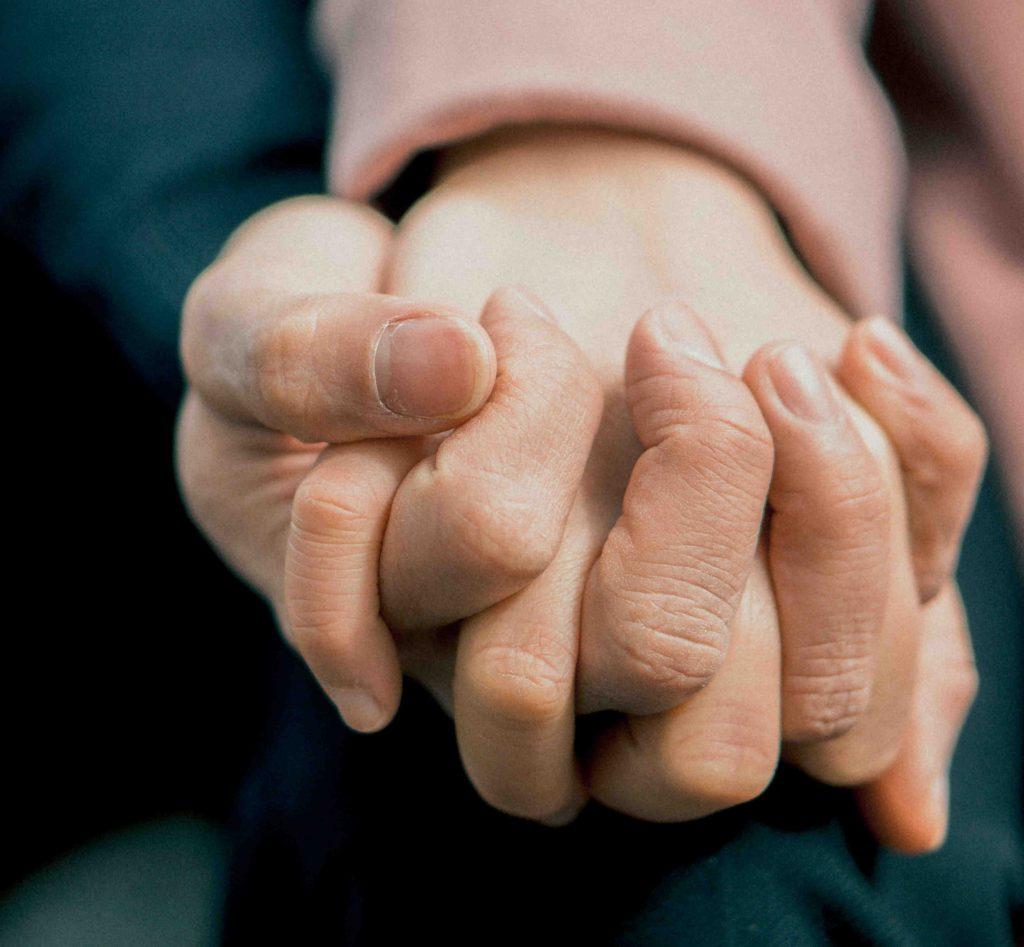 Dedos entrelazados