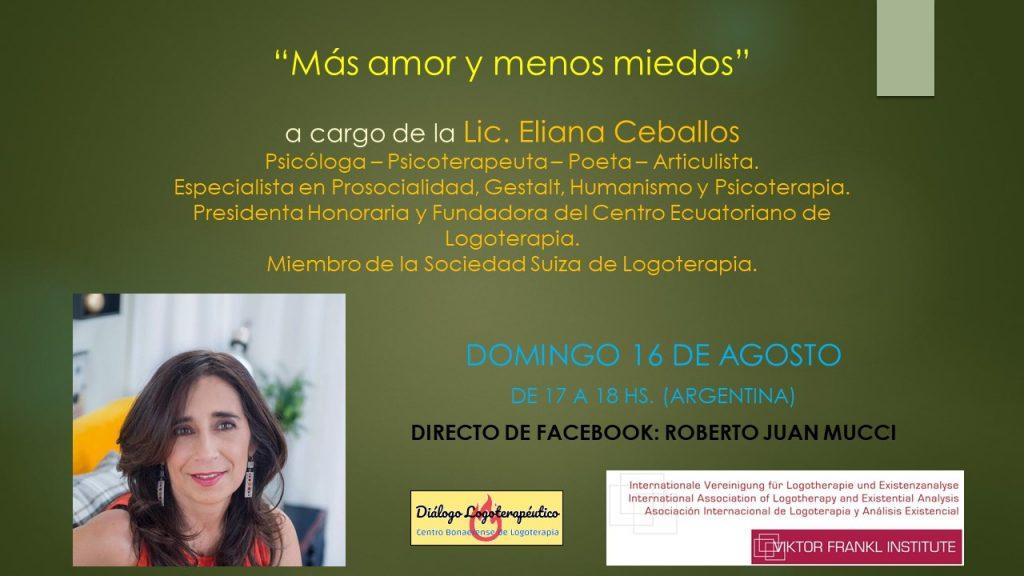 Más amor y menos miedos - Argentina, 16 de agosto de 2020
