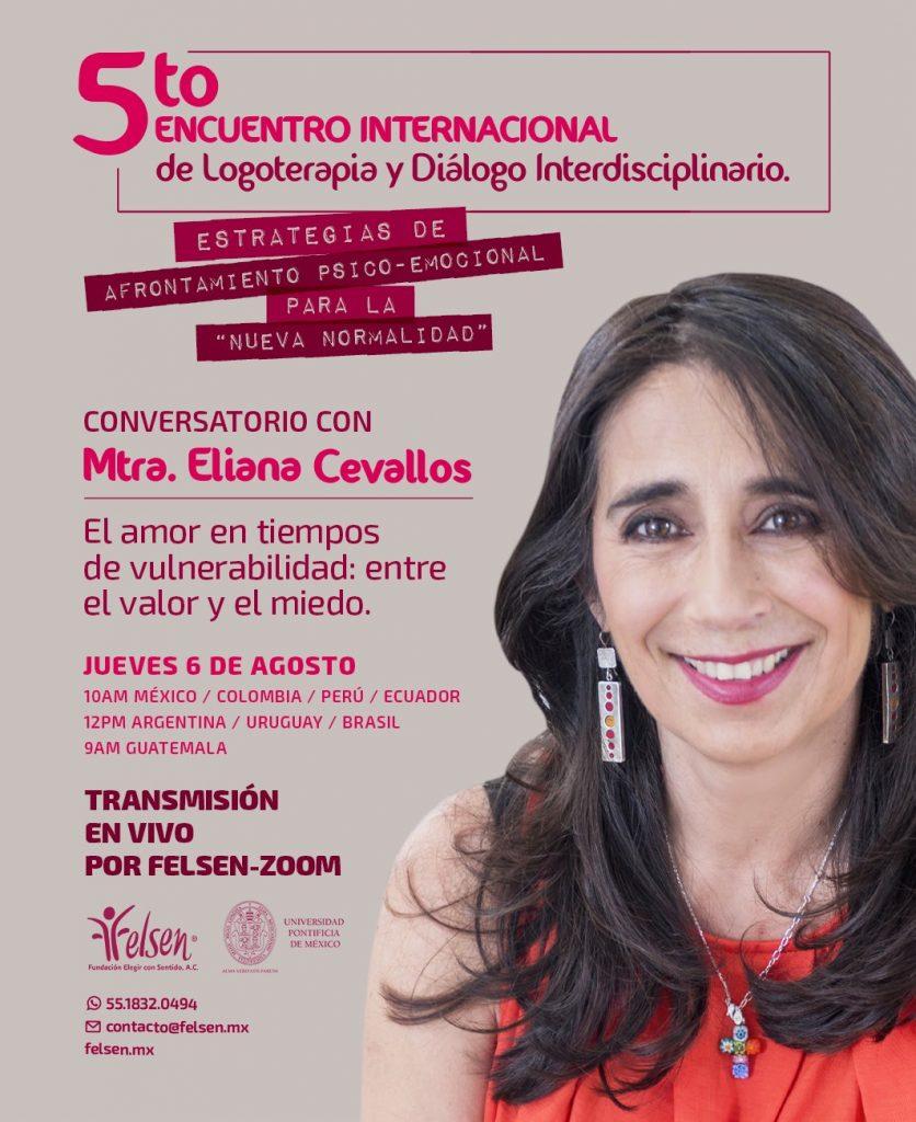 5to encuentro internacional de logoterapia y diálogo interdisciplinario - México, 6 de agosto de 2020